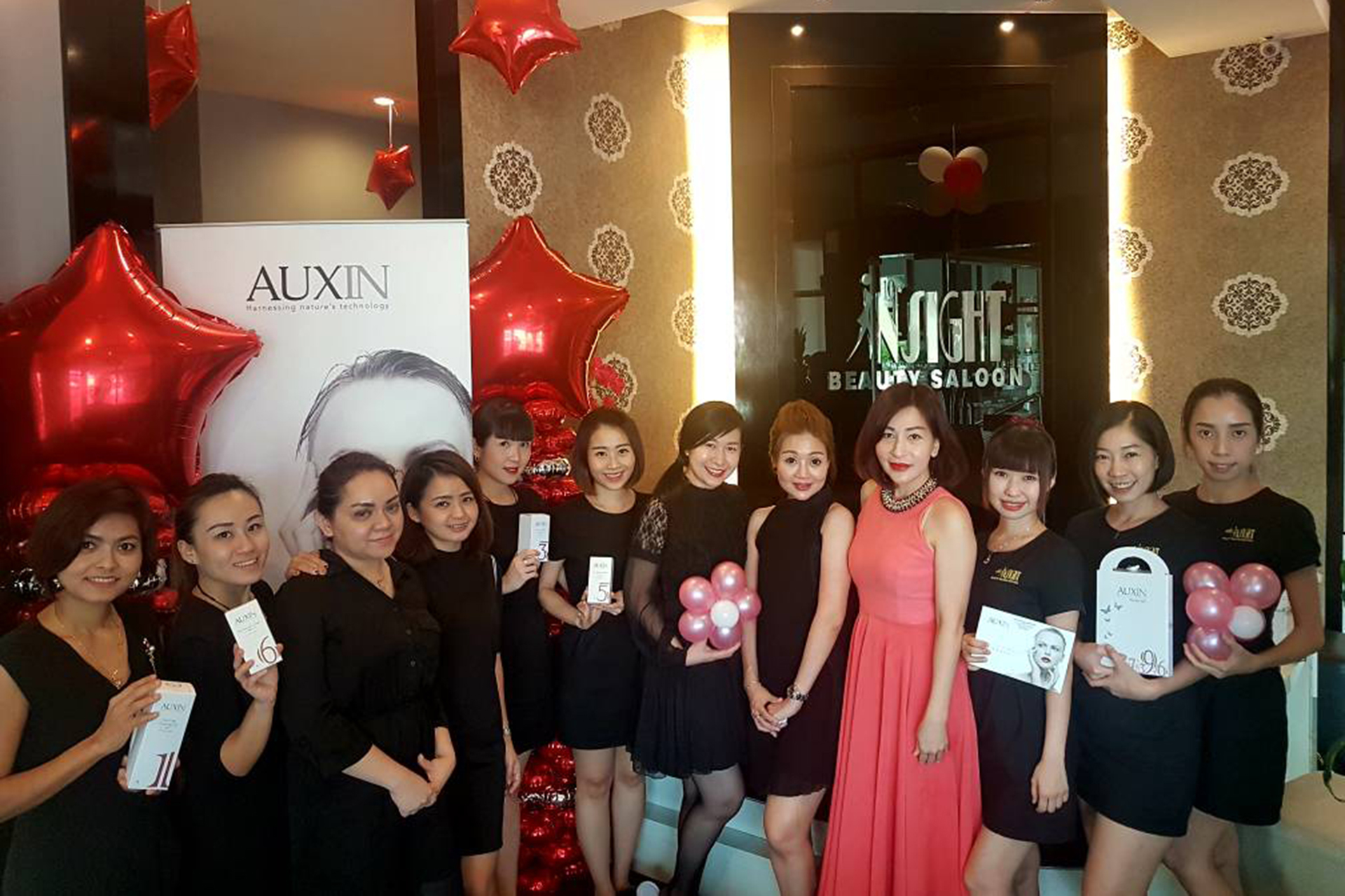 auxin beauty compaign